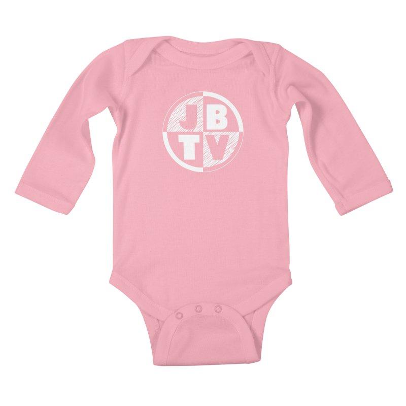 JBTV Circle Logo Kids Baby Longsleeve Bodysuit by JBTV's Artist Shop