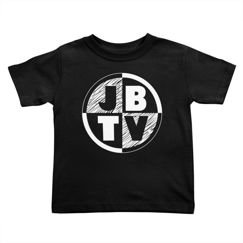 JBTV Circle Logo Kids Toddler T-Shirt by JBTV's Artist Shop