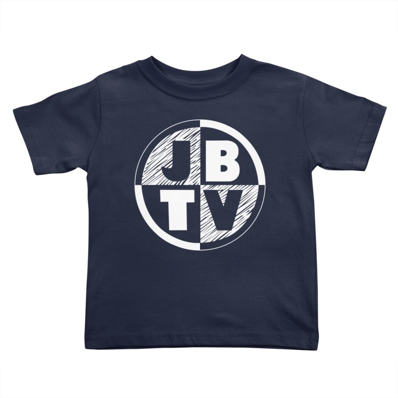 JBTV Circle Logo Kids Toddler T-Shirt by JBTV