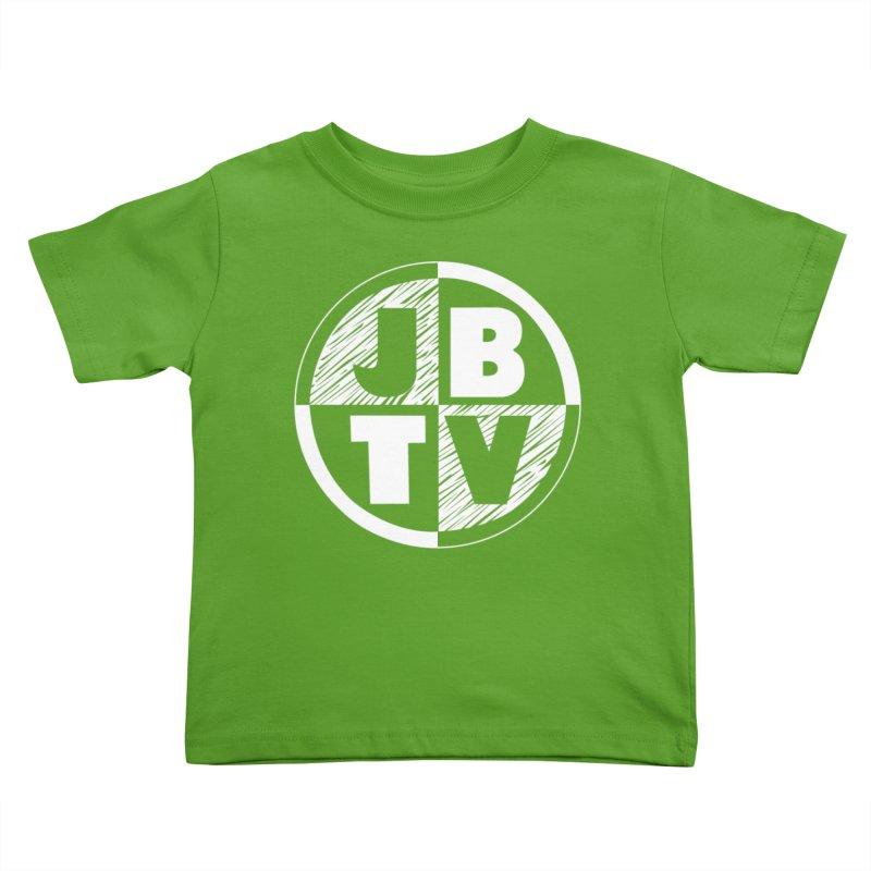JBTV Circle Logo Kids Toddler T-Shirt by JBTV