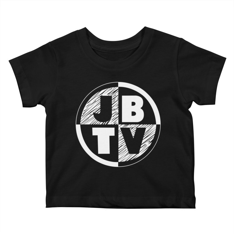 JBTV Circle Logo Kids Baby T-Shirt by JBTV