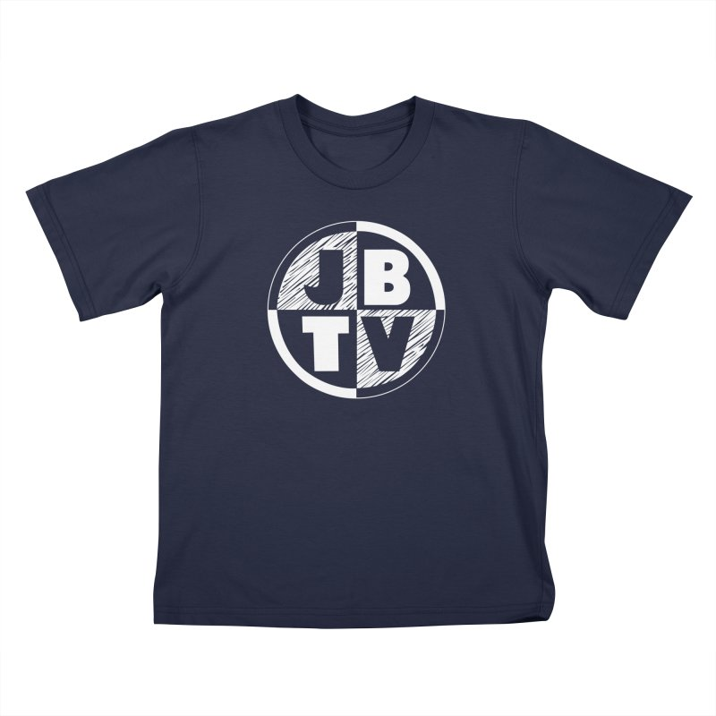 JBTV Circle Logo Kids T-Shirt by JBTV