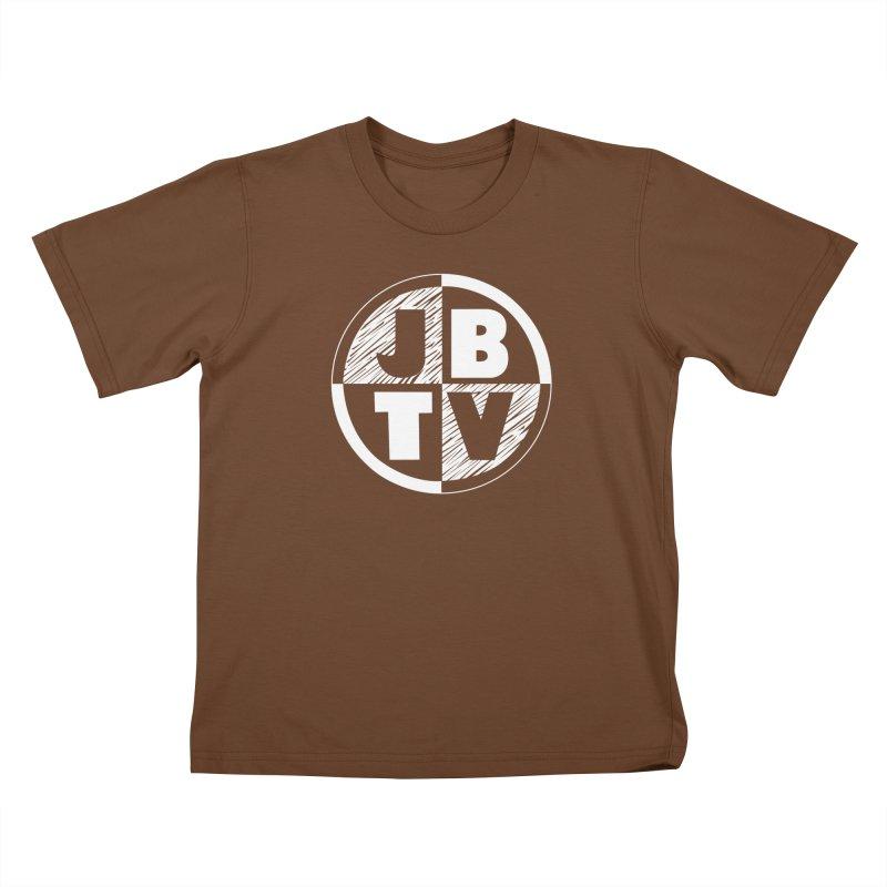 JBTV Circle Logo Kids T-Shirt by JBTV's Artist Shop
