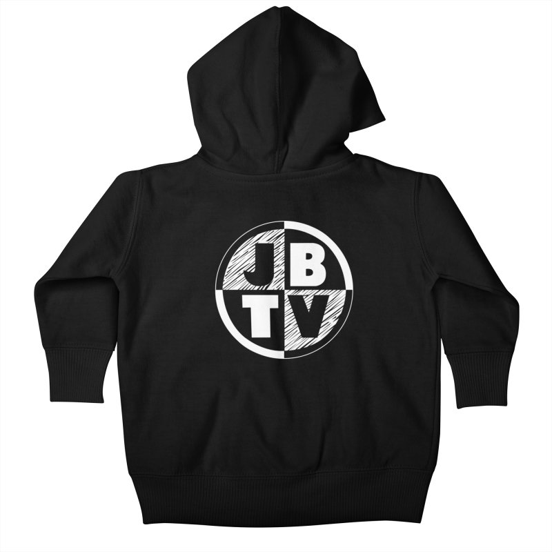 JBTV Circle Logo Kids Baby Zip-Up Hoody by JBTV's Artist Shop