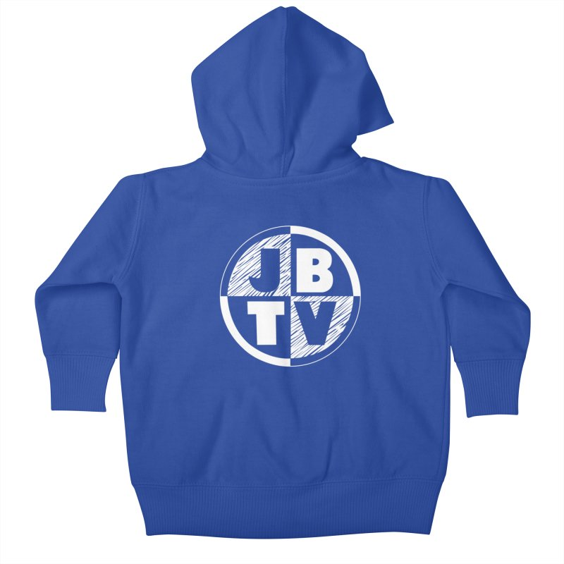 JBTV Circle Logo Kids Baby Zip-Up Hoody by JBTV's Artist Shop