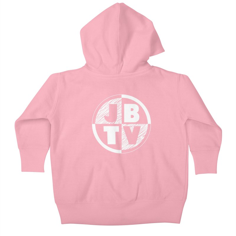 JBTV Circle Logo Kids Baby Zip-Up Hoody by JBTV