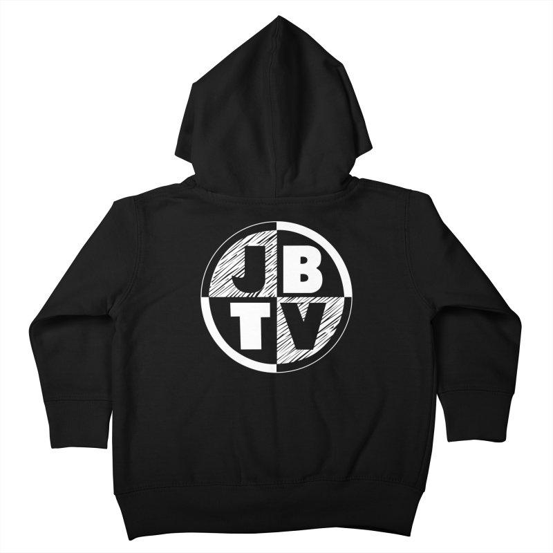 JBTV Circle Logo Kids Toddler Zip-Up Hoody by JBTV