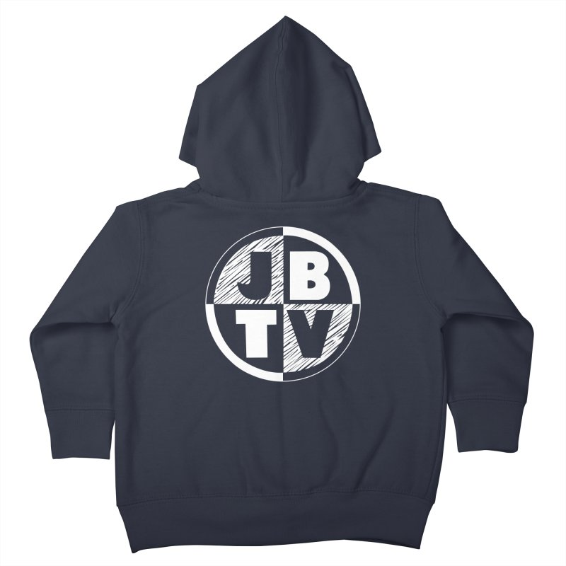 JBTV Circle Logo Kids Toddler Zip-Up Hoody by JBTV
