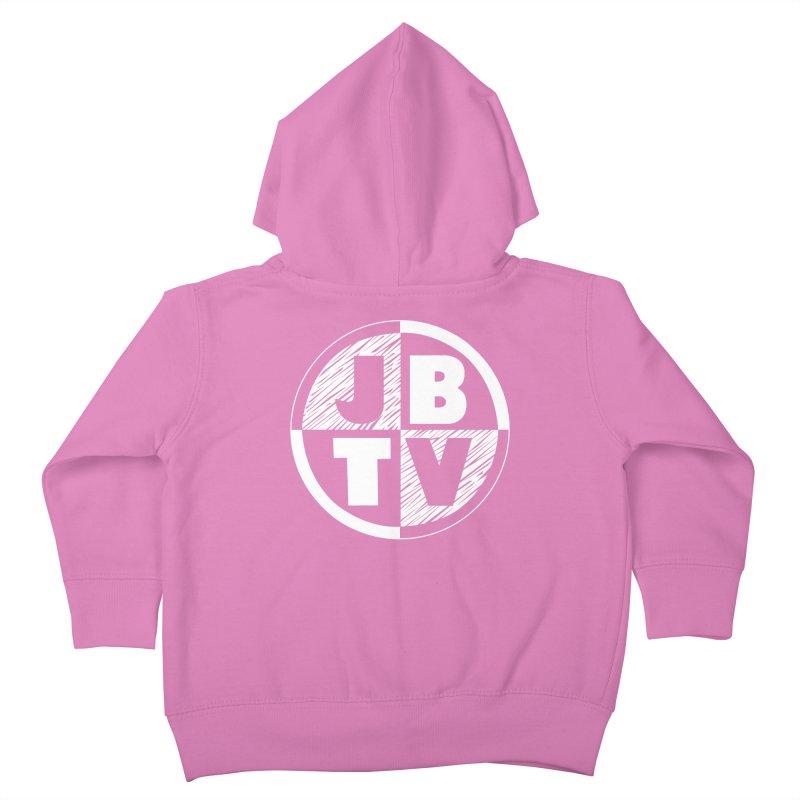 JBTV Circle Logo Kids Toddler Zip-Up Hoody by JBTV's Artist Shop