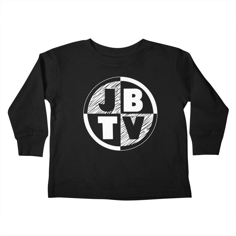JBTV Circle Logo Kids Toddler Longsleeve T-Shirt by JBTV's Artist Shop