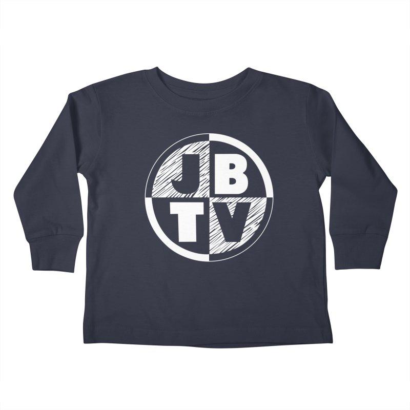 JBTV Circle Logo Kids Toddler Longsleeve T-Shirt by JBTV