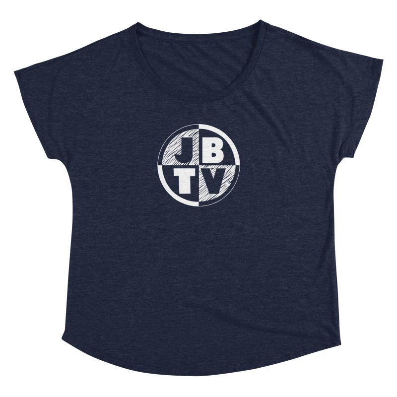 JBTV Circle Logo Women's Dolman Scoop Neck by JBTV's Artist Shop