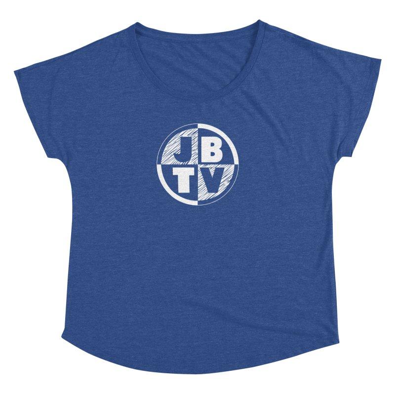 JBTV Circle Logo Women's Dolman by JBTV's Artist Shop