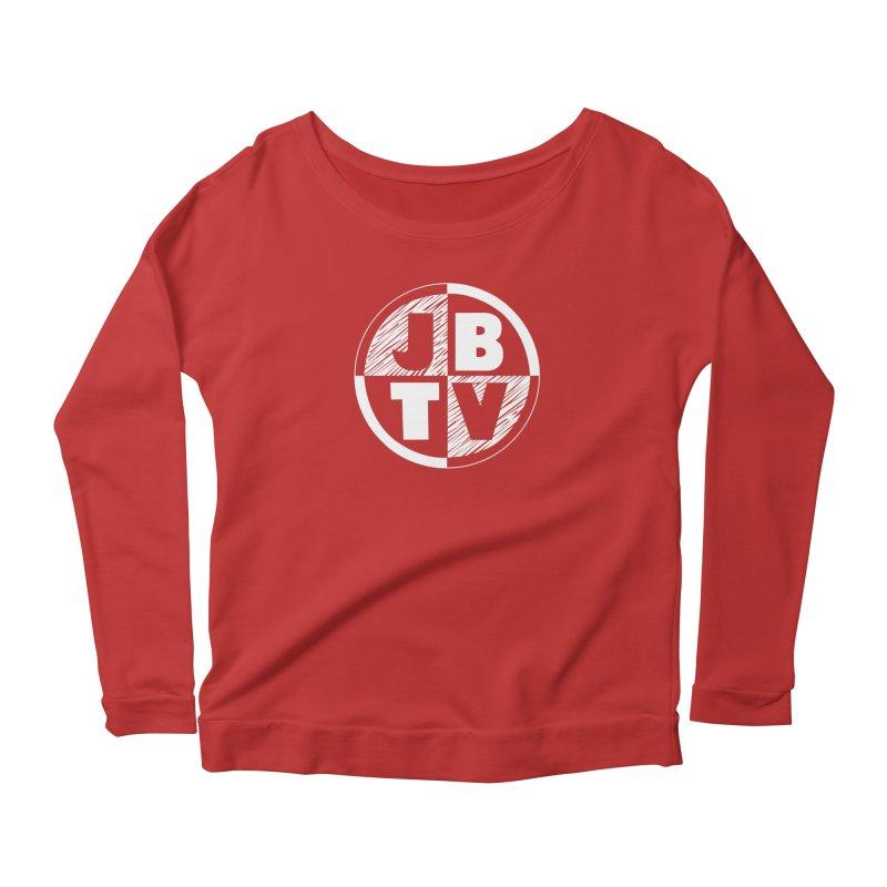 JBTV Circle Logo Women's Scoop Neck Longsleeve T-Shirt by JBTV's Artist Shop