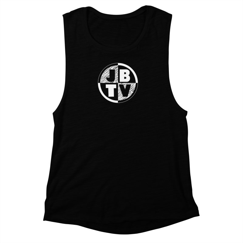 JBTV Circle Logo Women's Muscle Tank by JBTV's Artist Shop