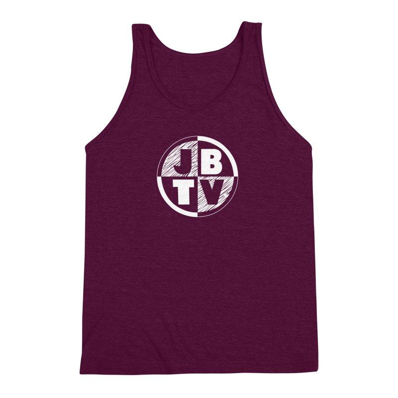 JBTV Circle Logo Men's Triblend Tank by JBTV's Artist Shop