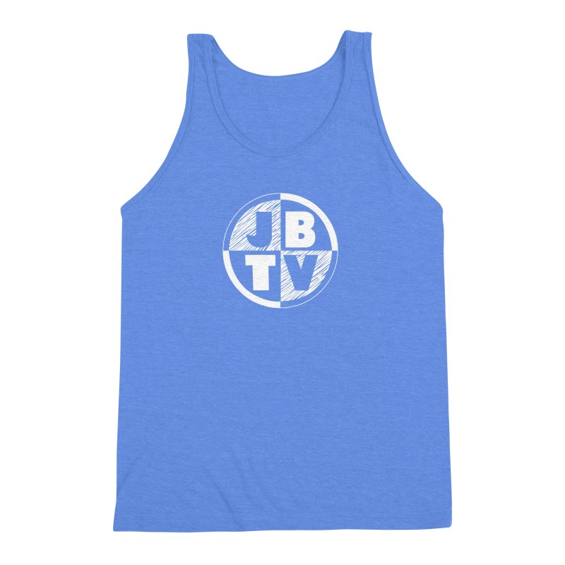 JBTV Circle Logo Men's Triblend Tank by JBTV