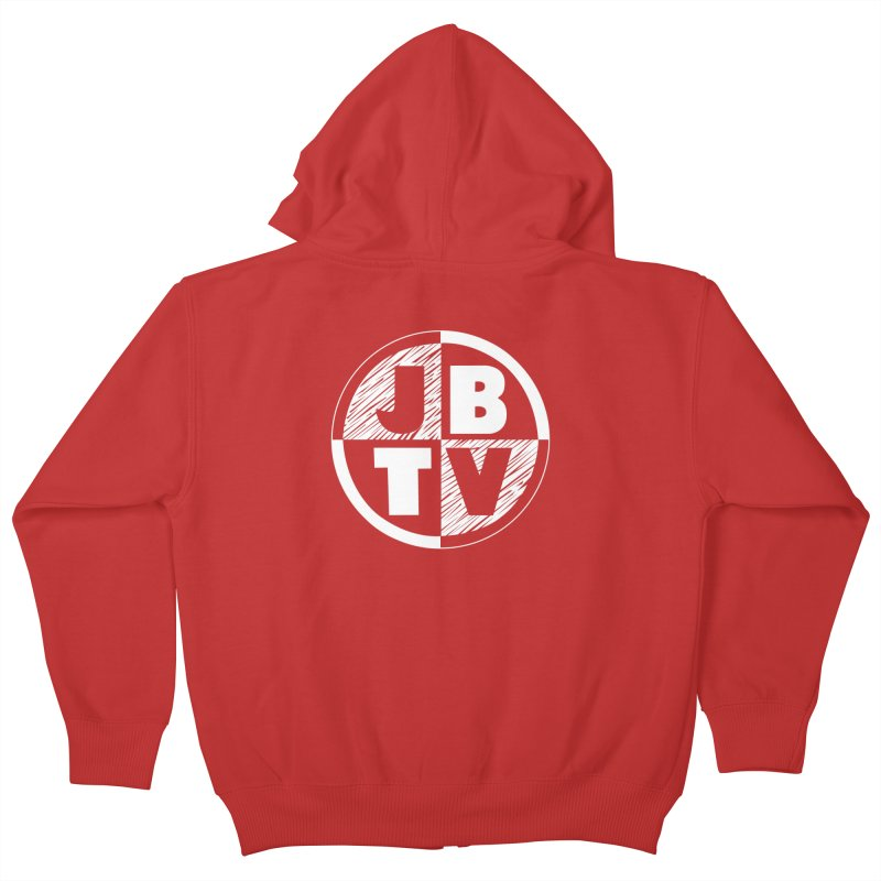 JBTV Circle Logo Kids Zip-Up Hoody by JBTV's Artist Shop