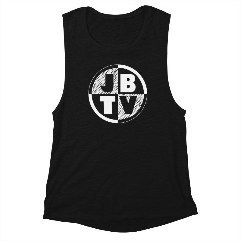 JBTV Circle Logo Women's Muscle Tank by JBTV