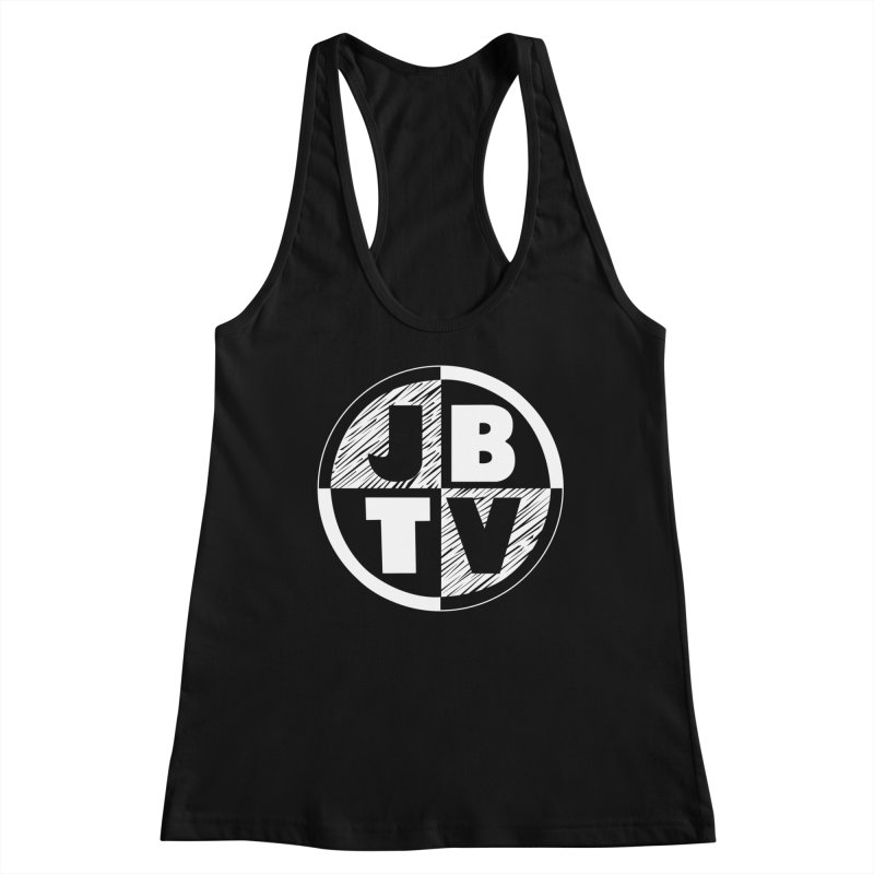 JBTV Circle Logo Women's Racerback Tank by JBTV