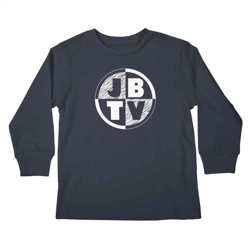 JBTV Circle Logo Kids Longsleeve T-Shirt by JBTV