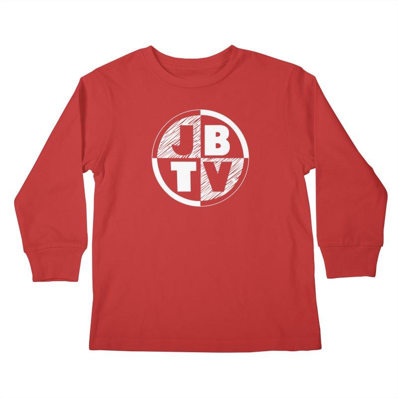 JBTV Circle Logo Kids Longsleeve T-Shirt by JBTV