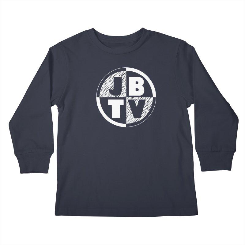JBTV Circle Logo Kids Longsleeve T-Shirt by JBTV's Artist Shop