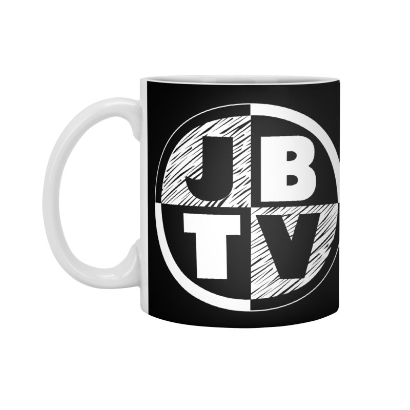 JBTV Circle Logo in Standard Mug White by JBTV's Artist Shop