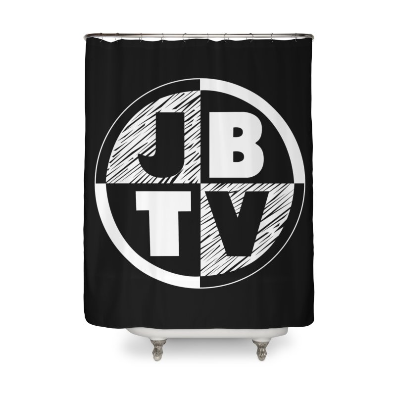 JBTV Circle Logo Home Shower Curtain by JBTV's Artist Shop