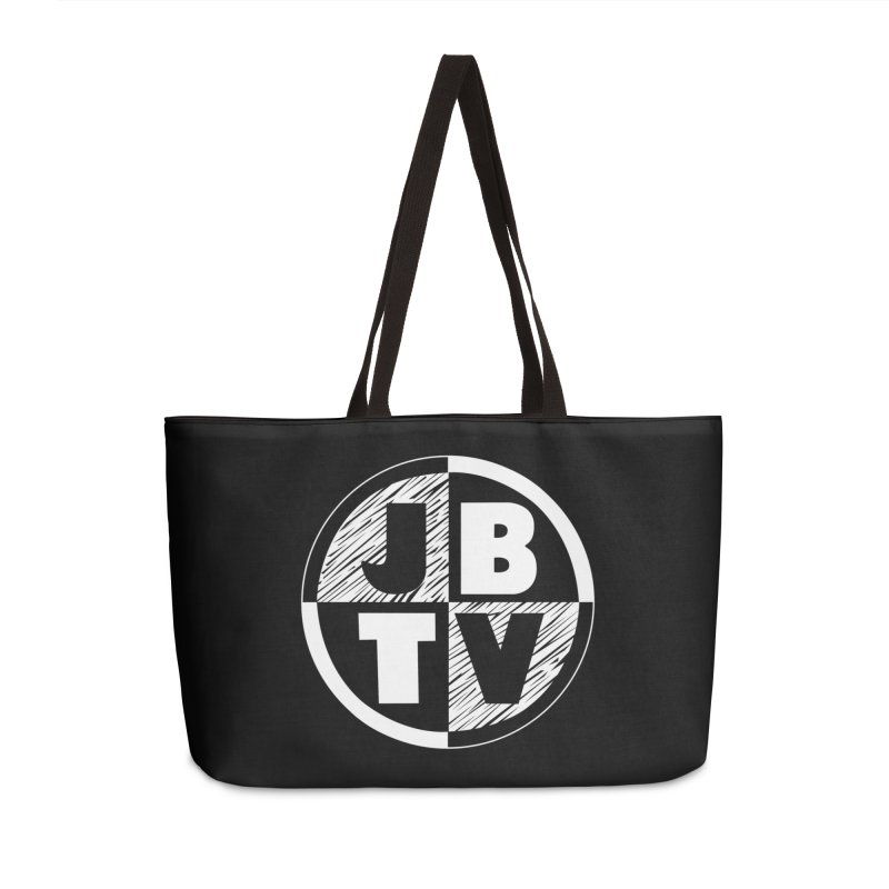 JBTV Circle Logo Accessories Weekender Bag Bag by JBTV