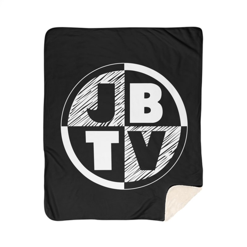 JBTV Circle Logo Home Sherpa Blanket Blanket by JBTV
