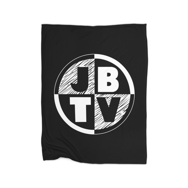 JBTV Circle Logo Home Fleece Blanket Blanket by JBTV