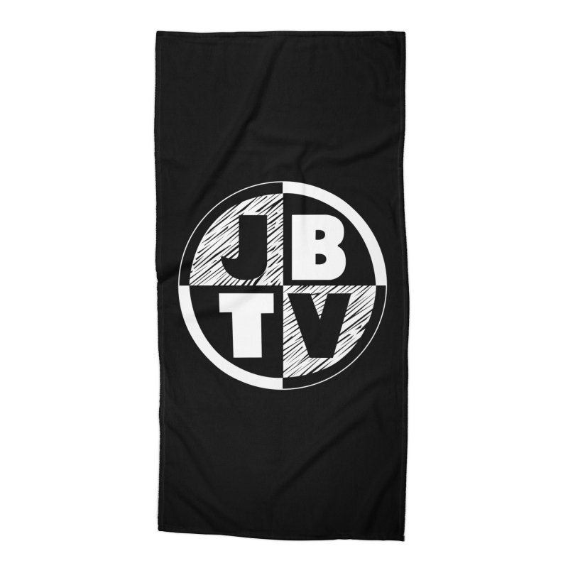 JBTV Circle Logo Accessories Beach Towel by JBTV's Artist Shop