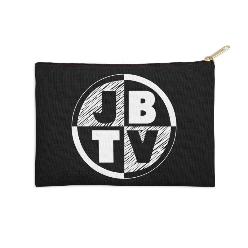 JBTV Circle Logo Accessories Zip Pouch by JBTV's Artist Shop