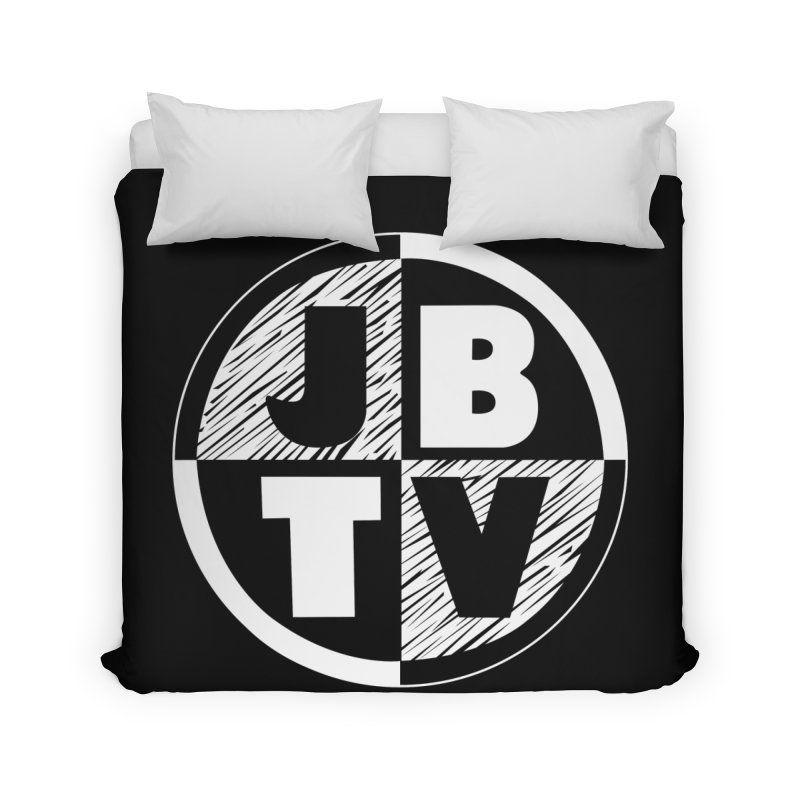 JBTV Circle Logo Home Duvet by JBTV's Artist Shop