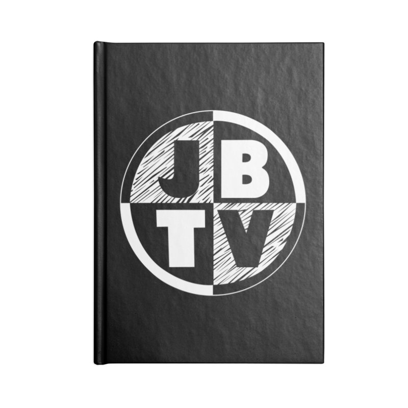 JBTV Circle Logo Accessories Blank Journal Notebook by JBTV