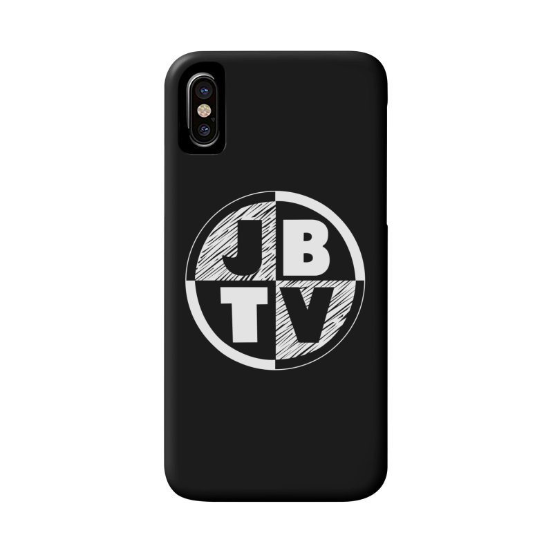 JBTV Circle Logo Accessories Phone Case by JBTV's Artist Shop