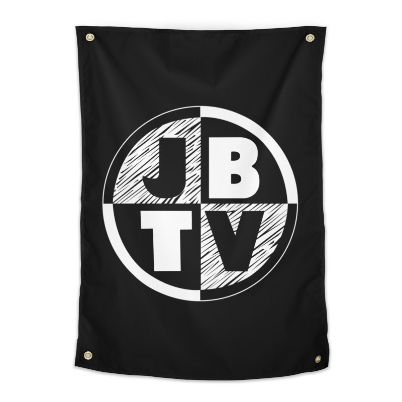 JBTV Circle Logo Home Tapestry by JBTV