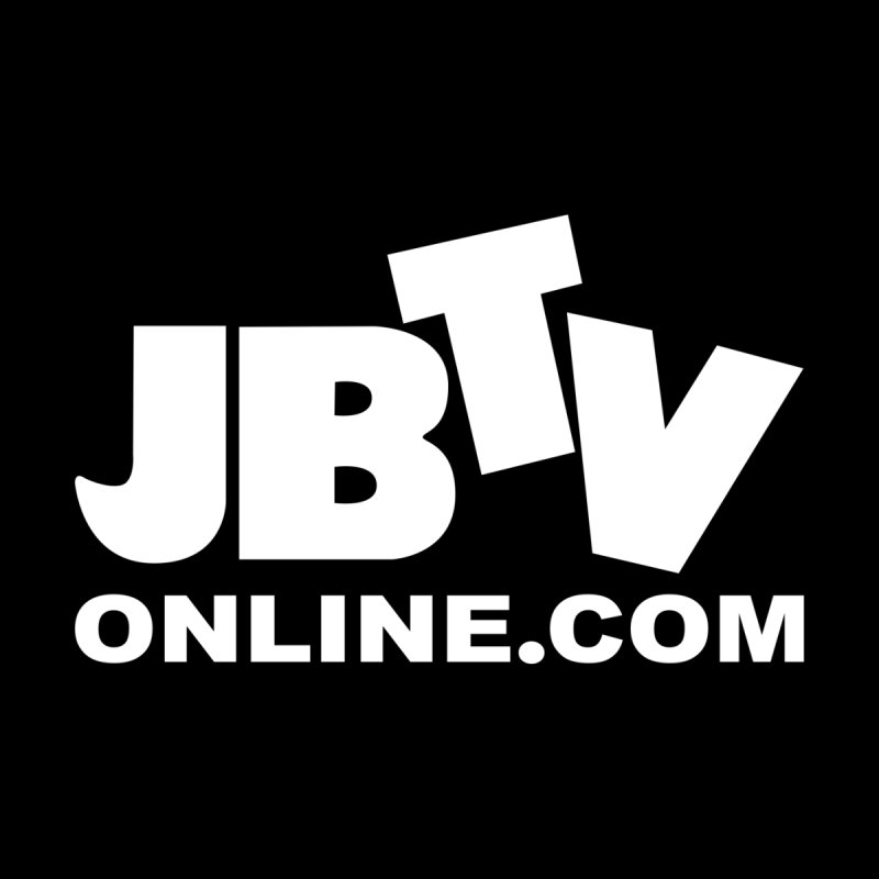 JBTV White Logo Home Blanket by JBTV