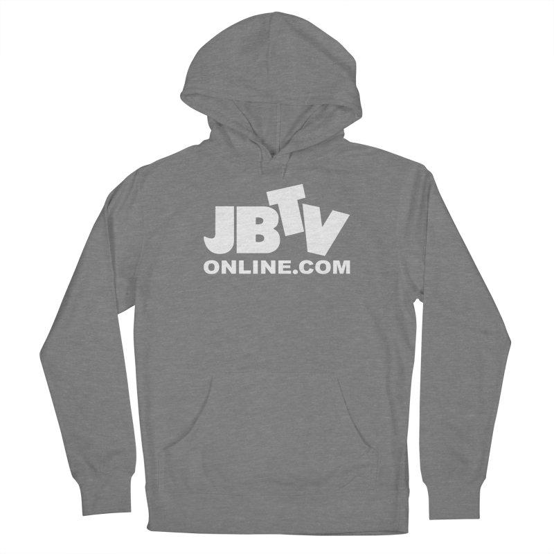 JBTV White Logo Women's Pullover Hoody by JBTV