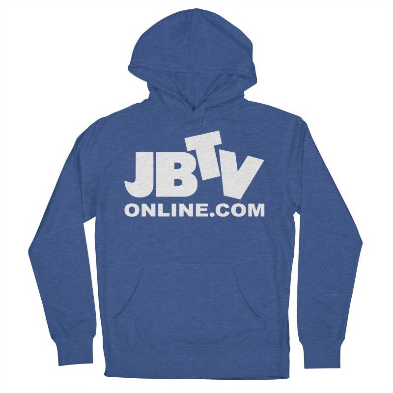 JBTV White Logo Women's Pullover Hoody by JBTV's Artist Shop