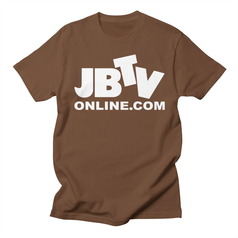 JBTV White Logo Women's Unisex T-Shirt by JBTV's Artist Shop