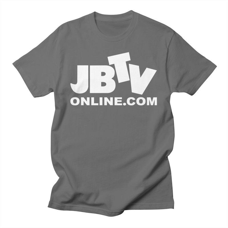 JBTV White Logo Women's T-Shirt by JBTV
