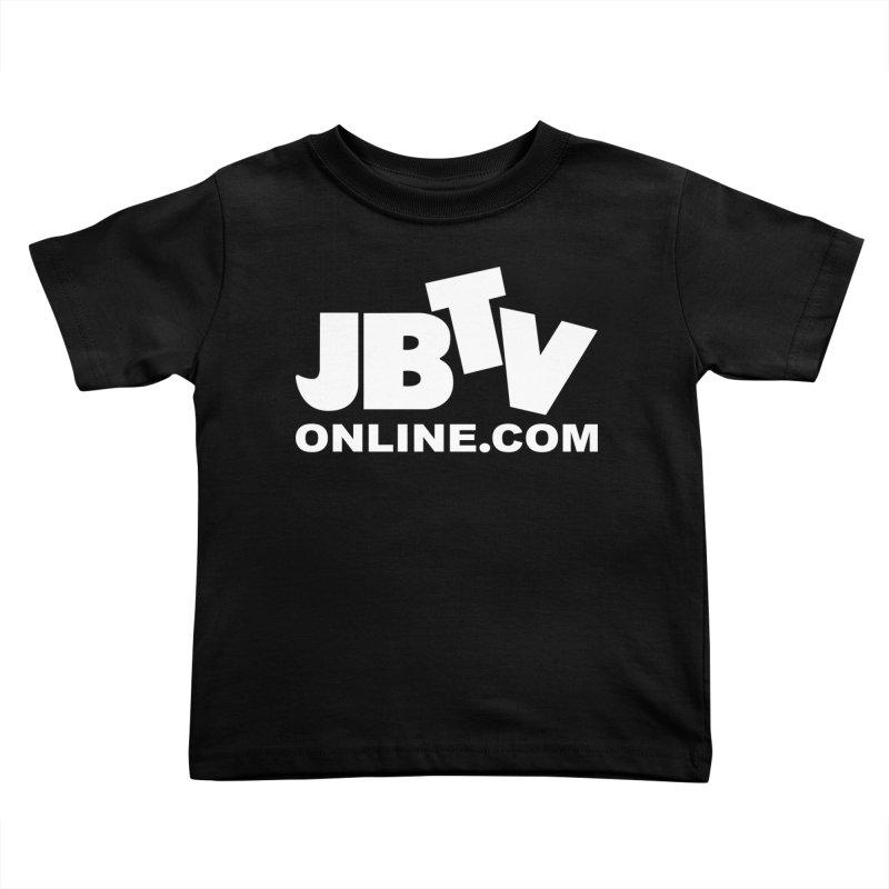 JBTV White Logo Kids Toddler T-Shirt by JBTV