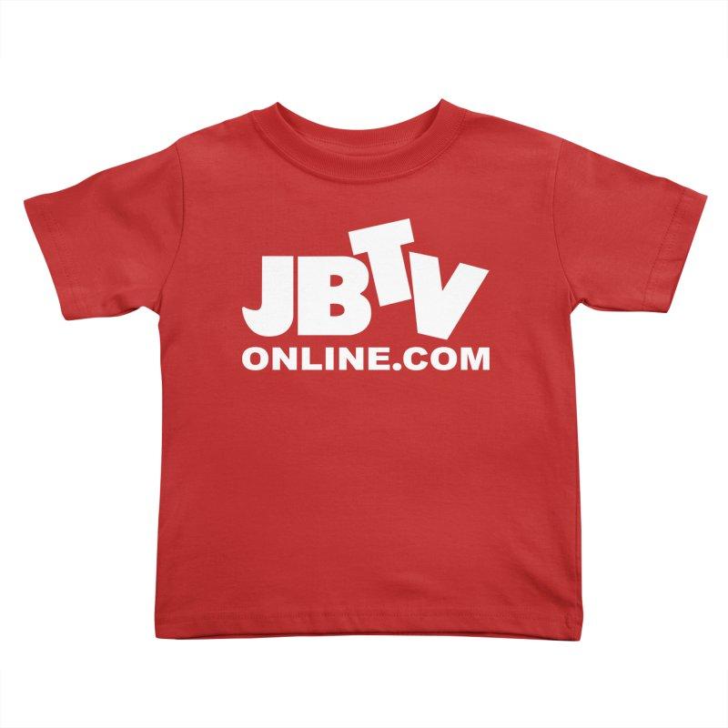 JBTV White Logo Kids Toddler T-Shirt by JBTV's Artist Shop