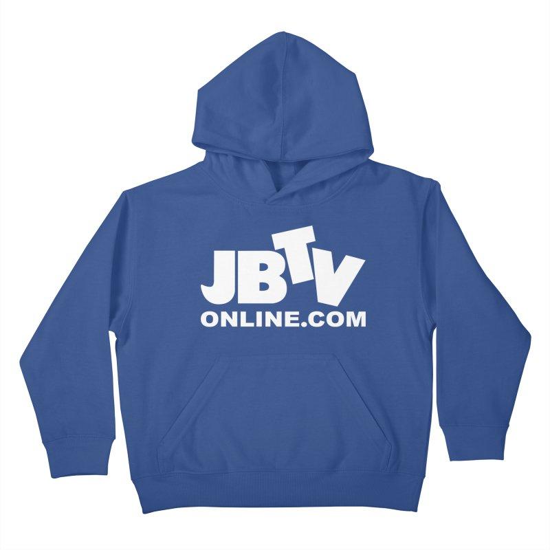 JBTV White Logo Kids Pullover Hoody by JBTV's Artist Shop
