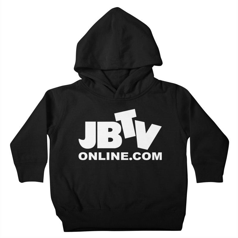 JBTV White Logo Kids Toddler Pullover Hoody by JBTV
