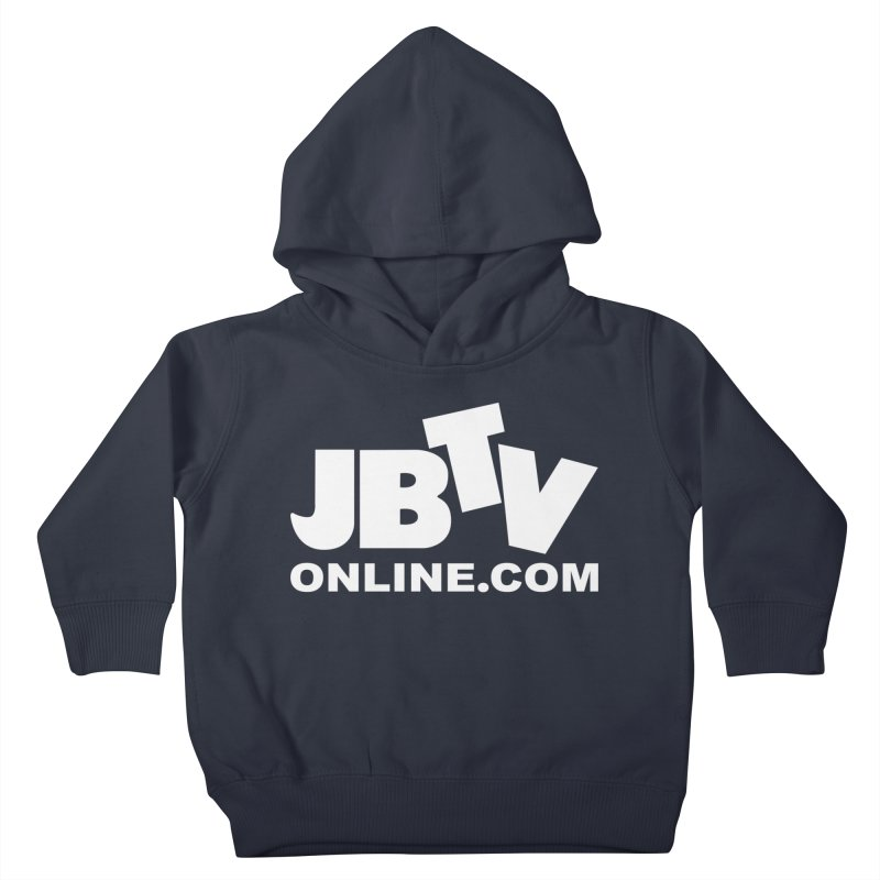 JBTV White Logo Kids Toddler Pullover Hoody by JBTV's Artist Shop