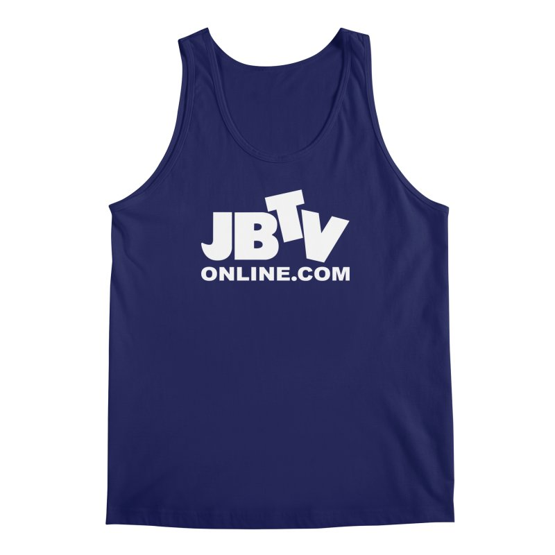 JBTV White Logo Men's Tank by JBTV's Artist Shop