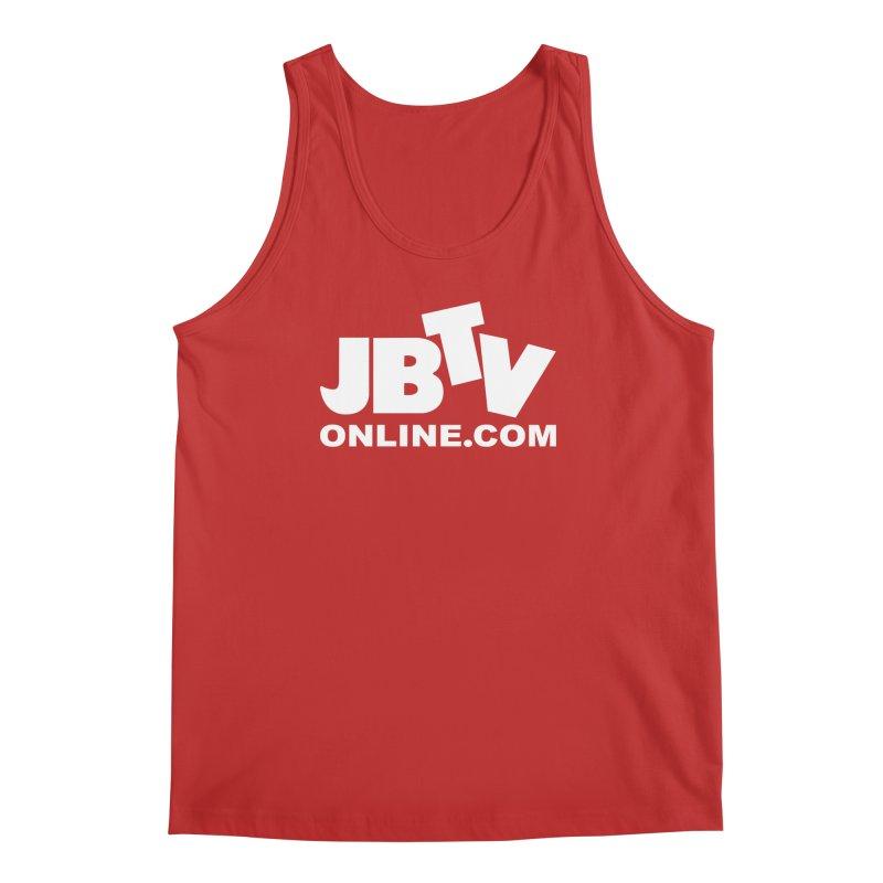JBTV White Logo Men's Regular Tank by JBTV's Artist Shop